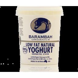 Photo of Barambah Low Fat Yoghurt 500g