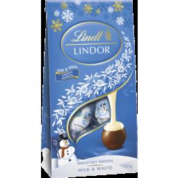 Photo of Lindor Milk/White Pch Bag*105gm