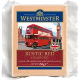 Photo of Westminster Rustic Red Cheddar 150g