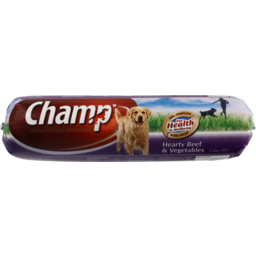 Photo of Champ Dog Roll Hearty Beef & Vegetable 2.6kg
