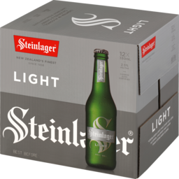 Photo of Steinlager Light Beer Lager Bottles 12 X 330ml