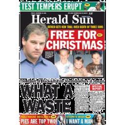 Photo of Herald Sun Monday
