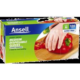 Photo of Ansell Handy Fresh Gloves 100pk