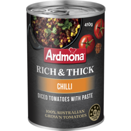 Photo of Ardmona Rich & Thick Diced Tomatoes With Paste Chilli 410g
