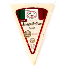 Photo of Asiago Medium Wedge