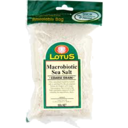 Photo of Lotus - Coarse Macrobiotic Sea Salt - 500g