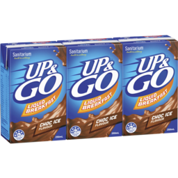Photo of Sanitarium Up & Go Liquid Breakfast Choc Ice (3x250ml)