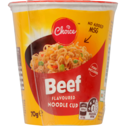 Photo of Choice Beef Noodle Cup 70g