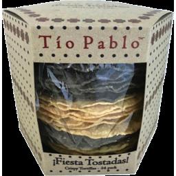 Photo of Tio Pablo Fiesta Tostadas Tortilla 24 Pack