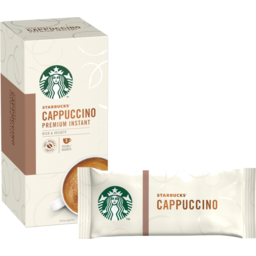 Photo of Starbucks Instant Coffee Cappuccino Mix 5 Pack 70g