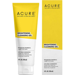 Photo of Acure Bright Cleansing Gel 118ml