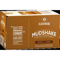 Photo of Vodka Cruiser Mudshake C.S Cowboy 270ml 24 Pack