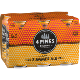Photo of 4 Pines Summer Can 6*375ml