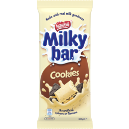 Photo of Nestle Milkybar Chocolate Milk & Cookies 180g
