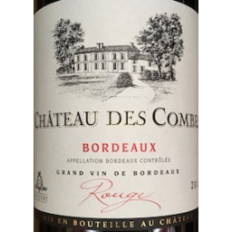 Photo of Chateau Des Combes 750ml