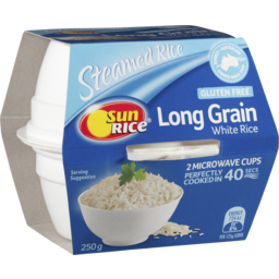 Photo of S/Rice White Lg Rice Cup 250gm