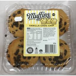 Photo of Grannys Muffin Vanilla Choc Chip 400gm