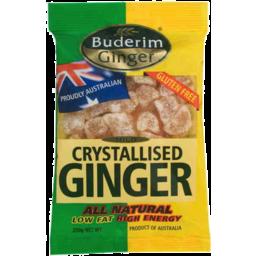 Photo of Buderim Ginger Mild Crystalised Ginger 250gm