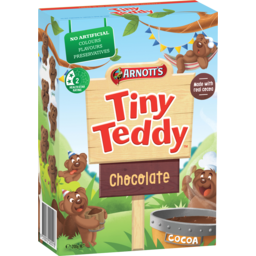 Photo of Arnott's Biscuits Tiny Teddy Chocolate Box 200gm