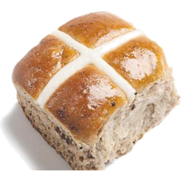 Photo of Easter Hbake Hot Cross Buns Spelt, Cranberry And White Chocolate