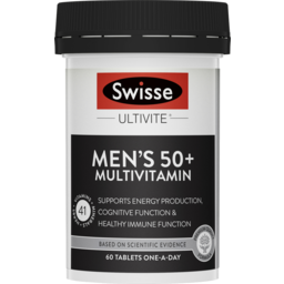 Photo of Swisse Men's Ultivite 50+ 60pk