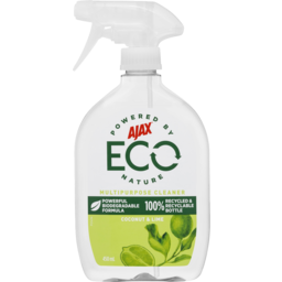 Photo of Ajax Eco Multipurpose Cleaner Coconut And Lime Trigger 450ml