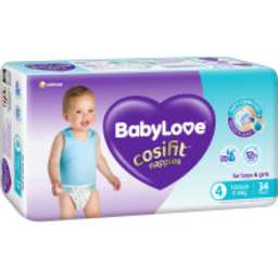 Photo of BABYLOVE NAPPY COSFIT TODDLER 34S