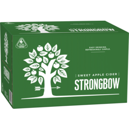 Photo of Strongbow Sweet Apple Cider 355ml 24 Pack