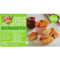 Photo of Fry's Family Meat-Free Chicken-Style Nuggets 380g 380g