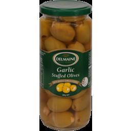 Photo of Delmaine Olives Garlic Stuffed 480g