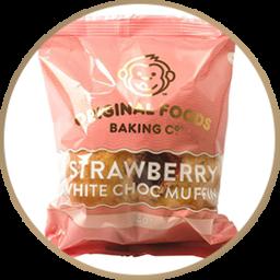 Photo of Original Foods Strawberry White Chocolate Muffin 140G