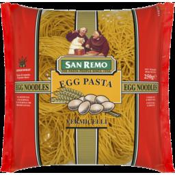 Photo of San Remo Egg Pasta Noodles Vermicelli 250g