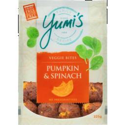 Photo of Yumis Veggie Bites Pumpkin & Spinach 225g