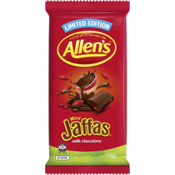 Photo of Allens Jaffas Choc Blck 170gm