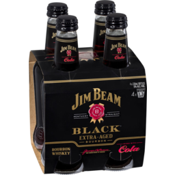 Photo of Jim Beam Black & Cola * Bottles