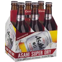 Photo of Asahi Bottle Carry Pack 6x330ml