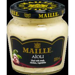 Photo of Maille Aioli Sauce 200ml