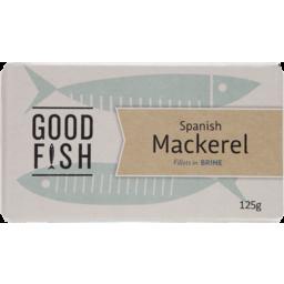 Photo of Good Fish Mackerel Brine 125g