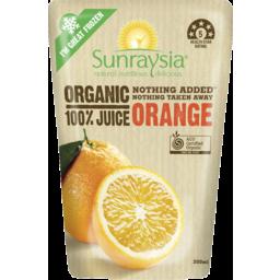 Photo of Sunraysia Organic Orange Juice 200ml