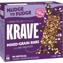 Photo of Krave Bars Nudge To Fudge 5pk