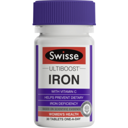 Photo of Swisse Ultiboost Iron 30 Tablets