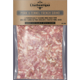 Photo of L'AUTHENIQUE PORK & FENNEL FRENCH GRIND 450GM
