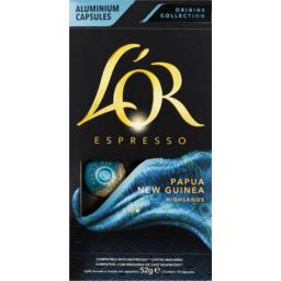 Photo of Lor Espresso Papua 10pk