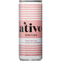 Photo of A'tivo Spritzed Rose Cans 250ml