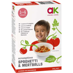 Photo of Annabel Karmel Scrumptious Spaghetti Meatballs 200gm