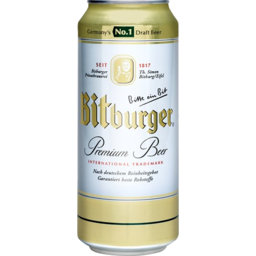 Photo of Bitburger Beer Can 500ml