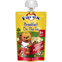 Photo of Farex Breakfast On The Go Creamy Baby Porridge 6mths+ 120g