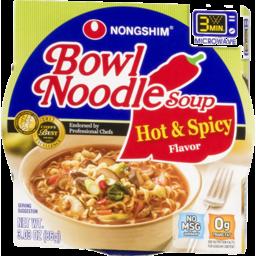 Photo of Nongshim Bowl Noodle Soup Hot & Spicy