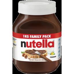 Photo of Nutella Chocolate Hazelnut Spread Family Pack 1kg