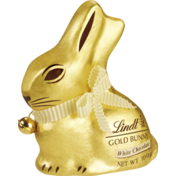 Photo of Lindt Gold Bunny White 100g